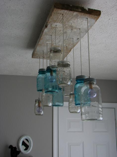 Bocal conserve royaumestyledeco - Fabriquer luminaire suspension ...