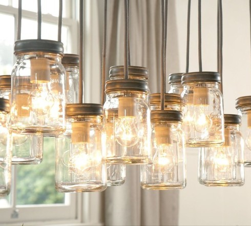 Luminaire suspension bocal en verre royaumestyledeco