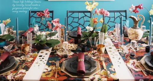 Table de fête, style hawaien, RoyaumeStyleDeco