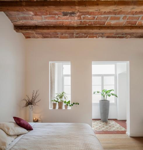 Rénovation Les Corts, Barcelone. Sergi Pons Architects. Photo: Adrià