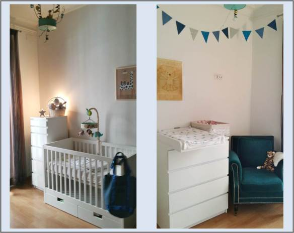 Décoration de chambre de bébé, RoyaumeStyleDeco