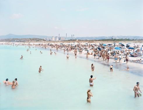 Plage de Rosignano, photographie Massimo Vitali