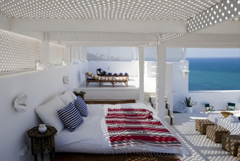 Villa Tanger, terrasse