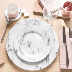 plato-llano-de-porcelana-marbre-vajilla-maisons-monde