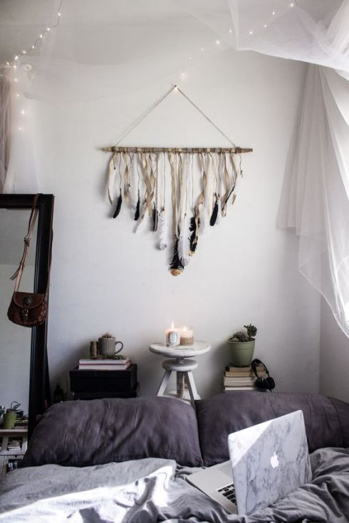 Dream Catcher, DIY, attrape rêve, Instagram Audrie Storme via blog.urbanoutfitters.com