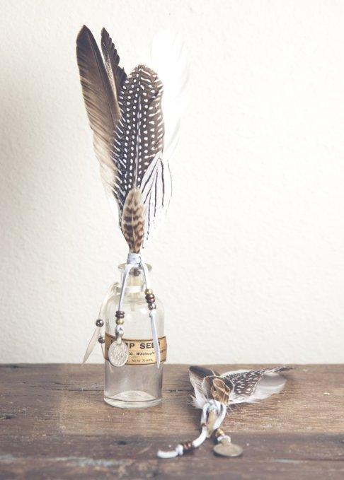 Décoration plumes vase soulmakes.com